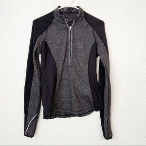 Lululemon 1/2 Zip Gray Reversible Pullover